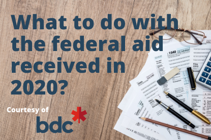 What to do with the federal support received in 2020?