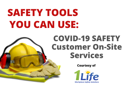 Safety Tools – COVID-19 Safety – Customer On-Site Services – Fact Sheet