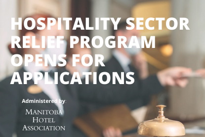 Hospitality Sector Relief Program Now Open