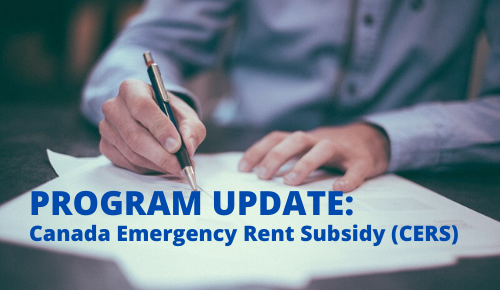 Federal Budget Changes to the Canada Emergency Rent Subsidy
