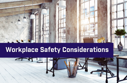 Key Considerations for Reopening Physical Workplaces